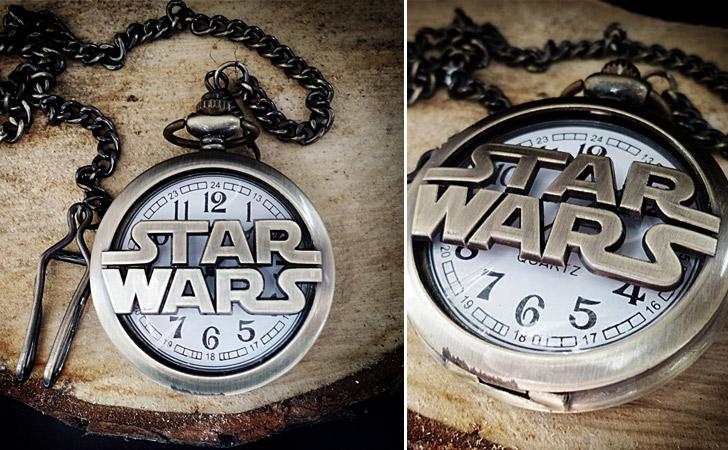 Star Wars Logo Pocket Watch - Pocket Watches For Men