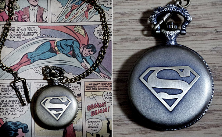 Superman Pocket Watch - Pocket Watches For Men