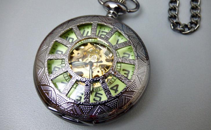 The Glow-In-The-Dark Pocket Watch