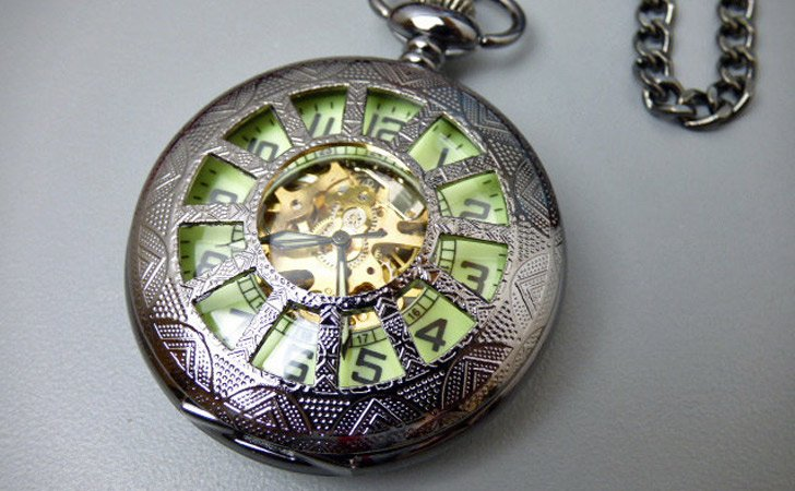 The Glow-In-The-Dark Pocket Watch