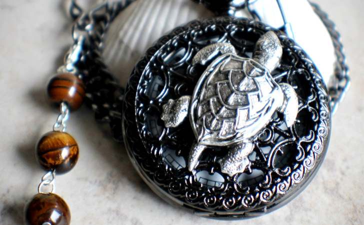 Turtle Pocket Watch - Pocket Watches For Men