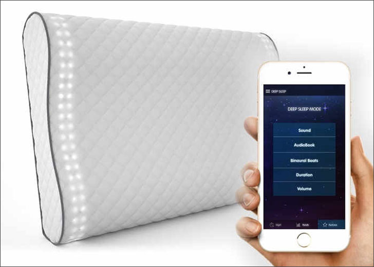 Wake Naturally Sunrise Smart Pillow