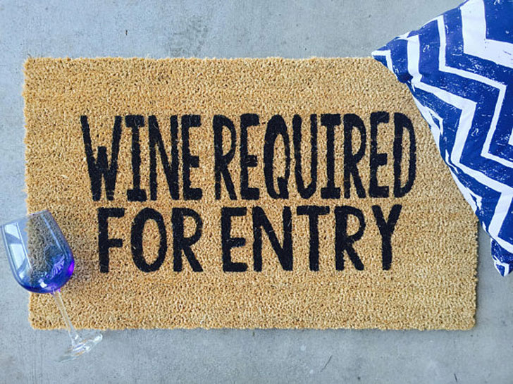 Wine Required For Entry
