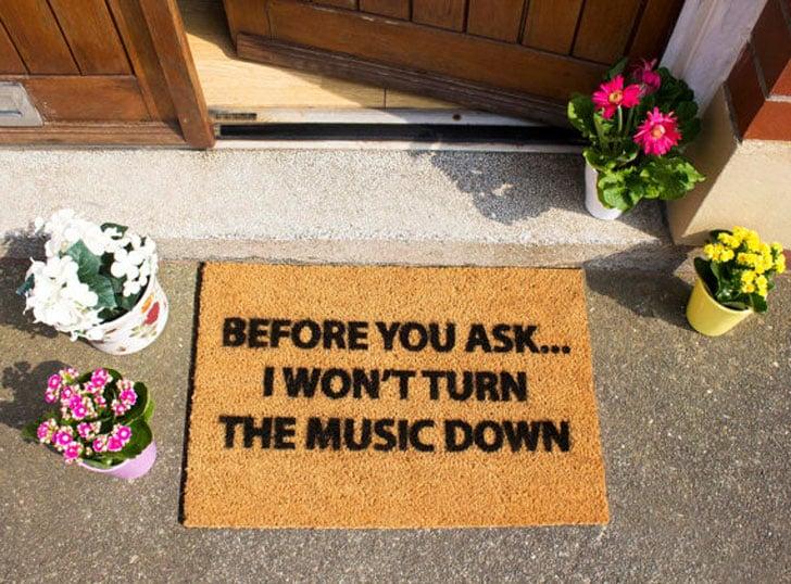 Won't Turn Music Down
