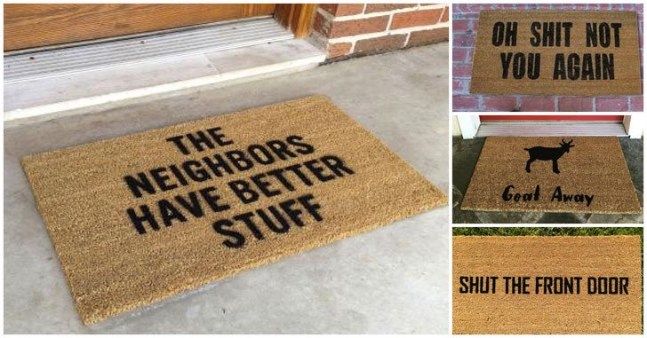 50 Of The Funniest Doormats To Greet Your Guests! - Awesome Stuff 365