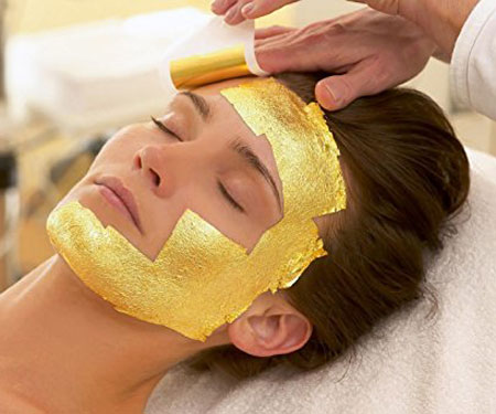 24k Gold Foil Sheet Masks