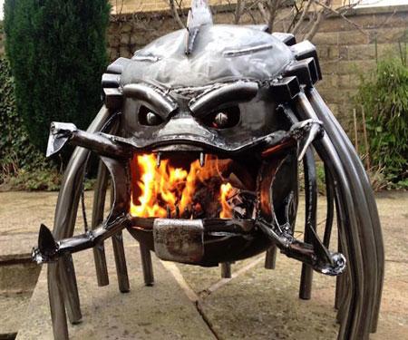 Alien Vs Predator Wood Burning Stoves