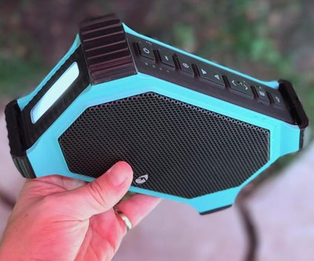 ECOXGEAR: EcoSlate Waterproof Bluetooth Speaker