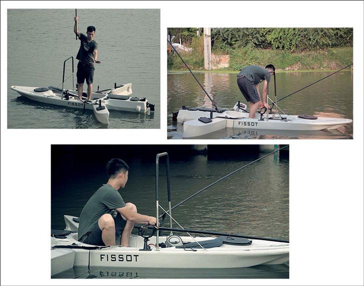 Fissot Stand-Up Fishing Kayaks
