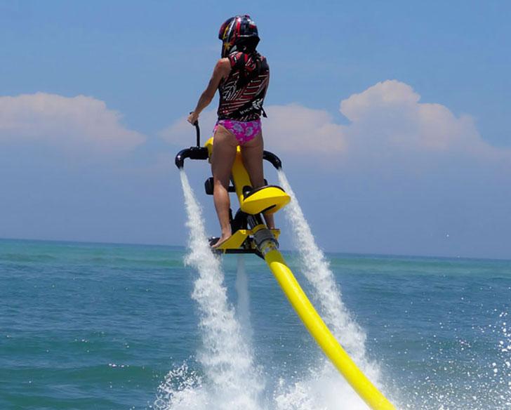 Flying Water Propelled Bikes