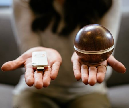 Hale Orb Photo & Video Sharing Device