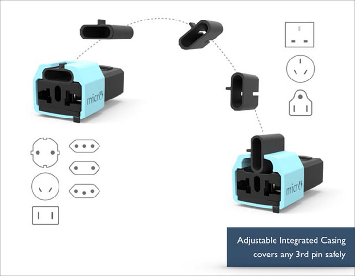 Micro Universal Travel Adapter