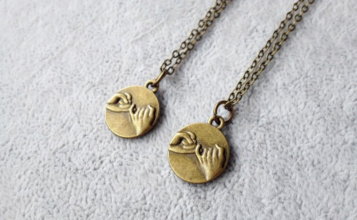 Pinky Promise Couples Necklace