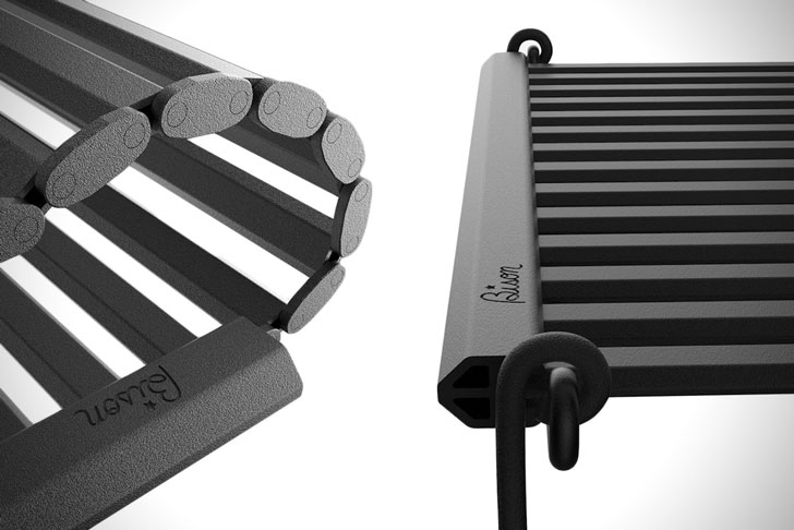 Portable Roll-Out Camping Grill