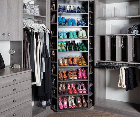 Revolving Shoe Racks
