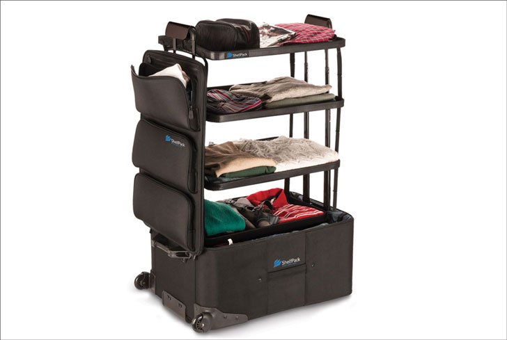 ShelfPack Travel Suitcase