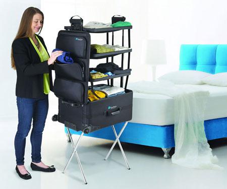 ShelfPack Travel Suitcase