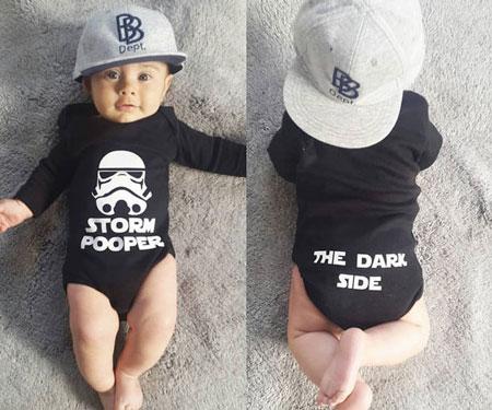 Star Wars Storm Pooper Onesie