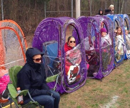 Under The Weather Pop-Up Sports Pods