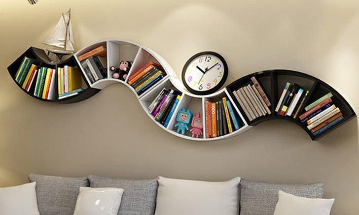 cool bookshelves