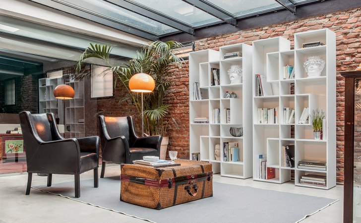Albaco Bookshelf By Tonin