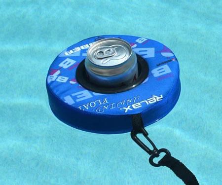 Beverage Bobber Inflatable Drink Holder