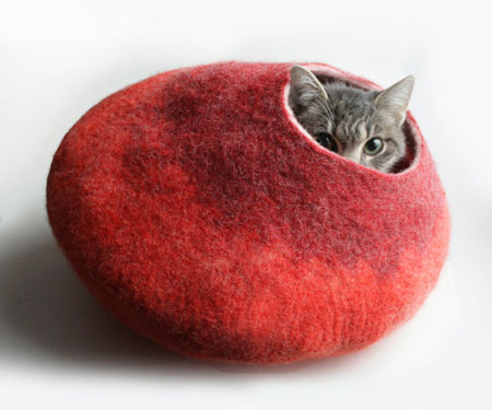 Cat Nap Cacoon Bed