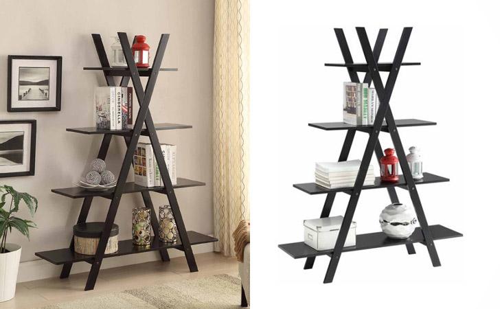 "Convenience Concepts Oxford ""A"" Frame Bookshelf"