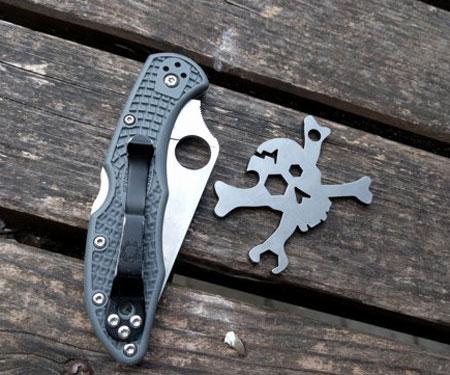Cracked Skull EDC Multi-Tool