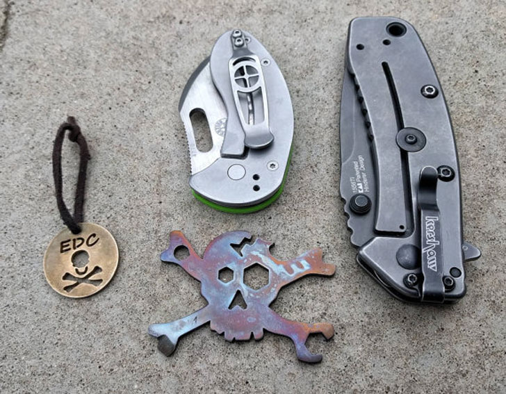 Cracked Skull EDC Multi-Tool