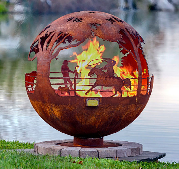 Custom-Made Fire Pits