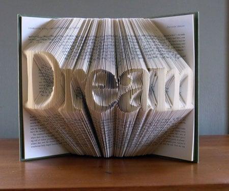 Custom-Made Folded Book Art Gifts