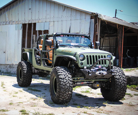 Customised Jeep Wrangler By Bruiser
