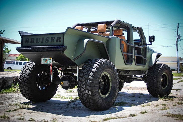 Customised Jeep Wrangler By Bruiser