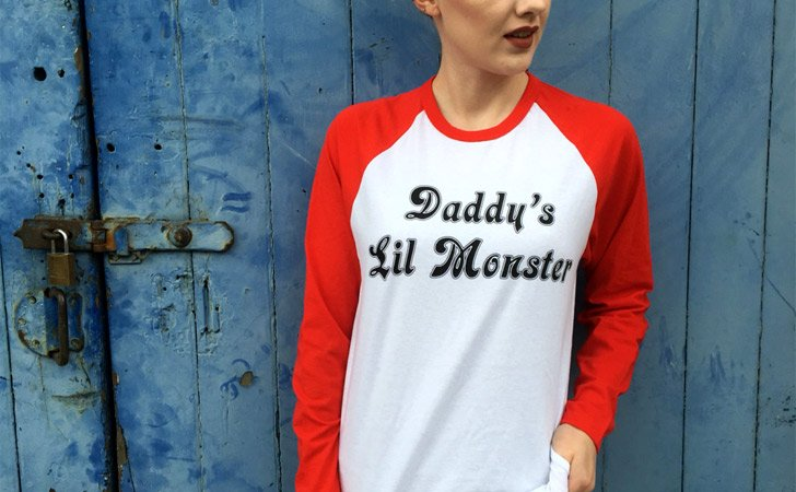 Daddy's Lil Monster Longsleeve Tee