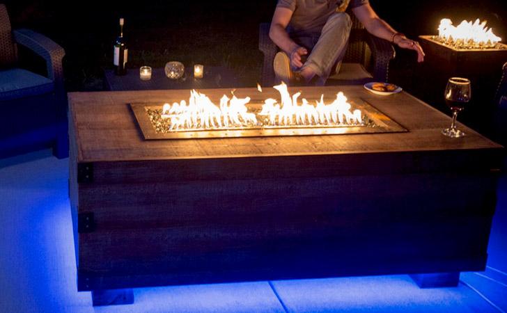Dancing Flames Speaker Fire Pit
