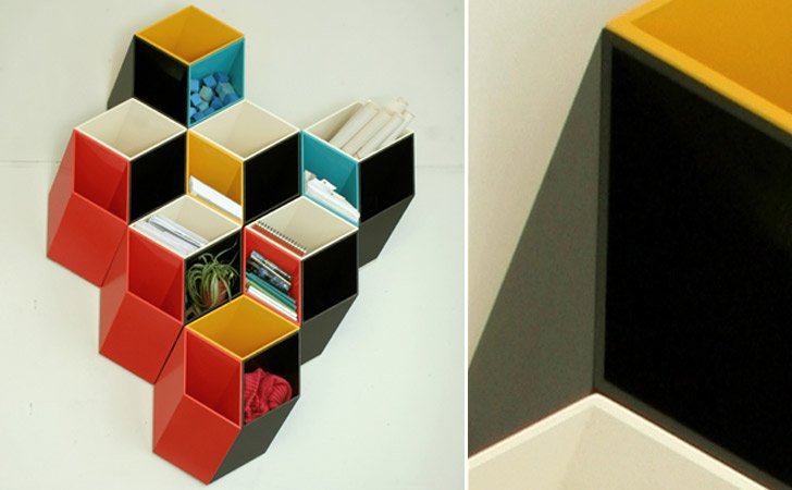 Dimension Shelves