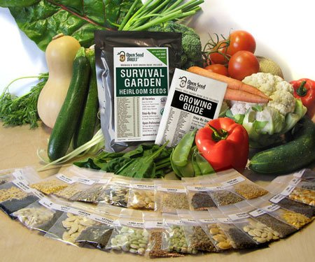 Emergency Survival Non-Gmo Seed Pack