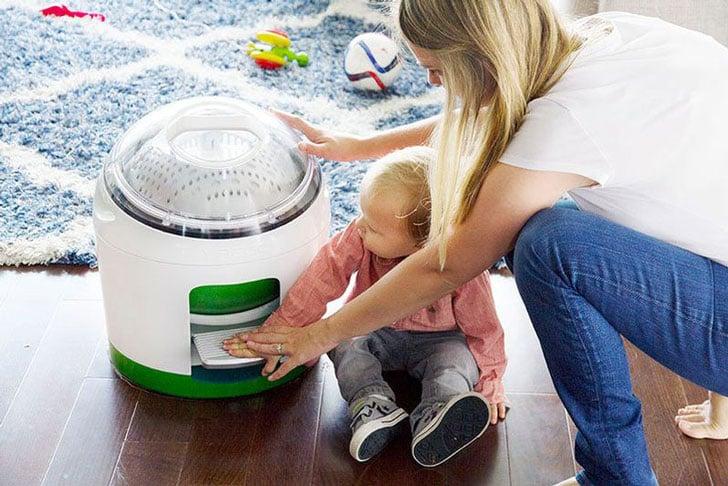 Foot-Powered Portable Washing Machine