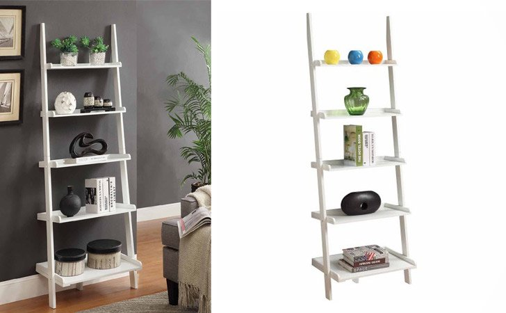 French Country Ladder Bookshelf