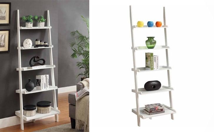 French Country Ladder Bookshelf