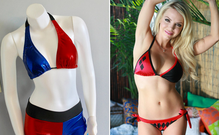 Harley Quinn Bikinis
