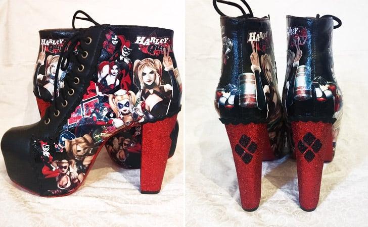 Harley Quinn High Heel Boots