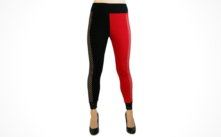 Harley Quinn Fishnet Leggings
