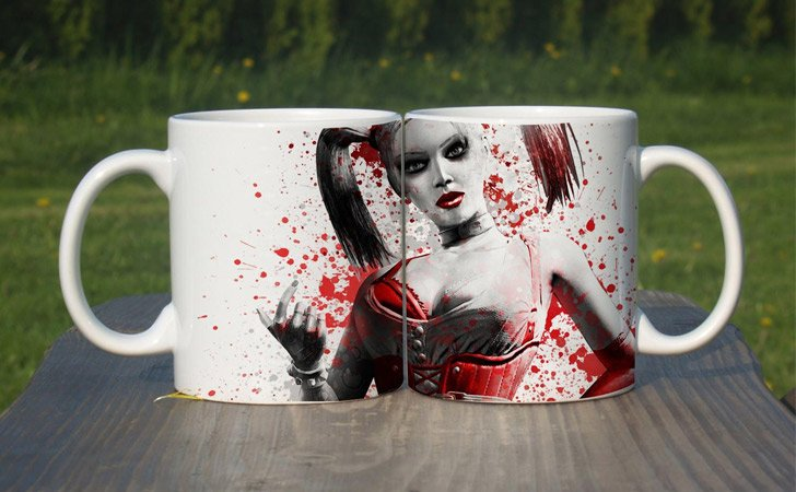 Harley Quinn Heat Changing Mug