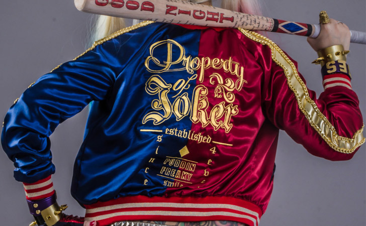 Harley Quinn Suicide Squad Embroidered Jacket