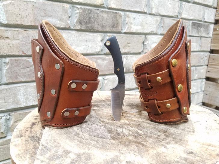 Hidden Wallet Wrist Cuff Sheath