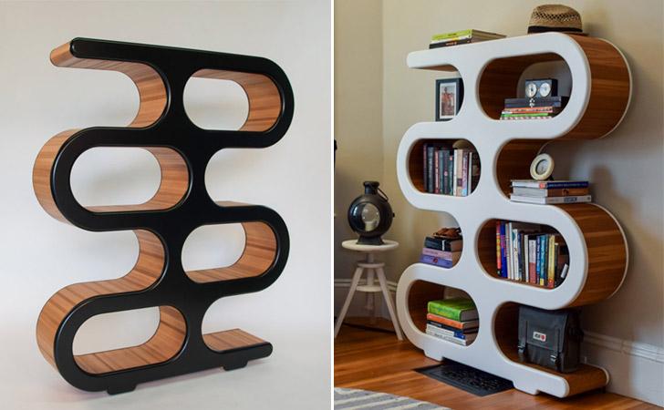 Mid Century Modernism Design Bookcase - Cool bookshelves