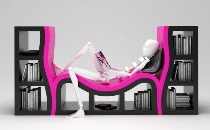 Modern Sole Bookshelves
