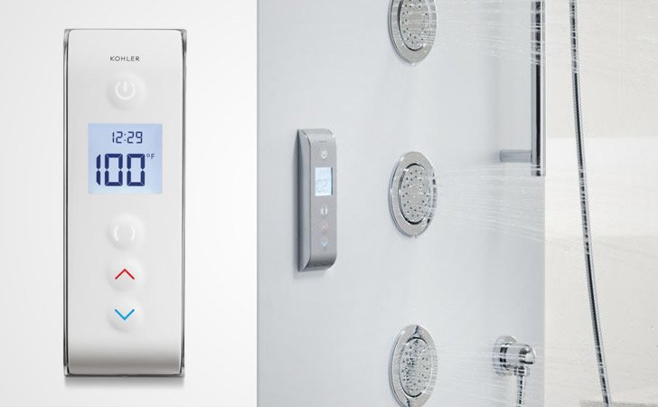 Smart Digital Shower Interface